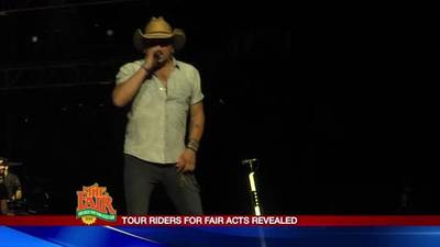 News video: What were in the State Fair acts' riders?